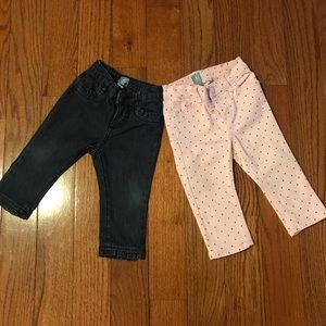 Bundle 2 Baby Gap Jeans